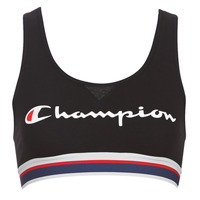 Underwear Women Sports bras Champion AUTHENTIC Black