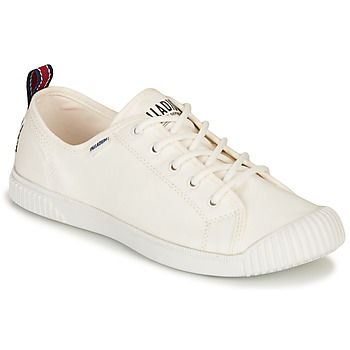 Shoes Women Low top trainers Palladium EASY LACE White