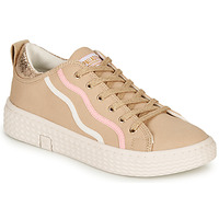 Shoes Women Low top trainers Palladium TEMPO 02 CVS Beige