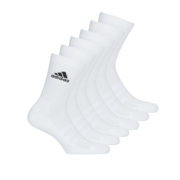Accessorie Sports socks adidas Performance CUSH CRW 6PP White