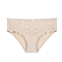 Underwear Women Knickers/panties PLAYTEX FLOWER ELEGANCE Beige