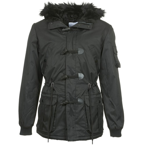 material Men Parkas Eleven Paris MAURIZ Black