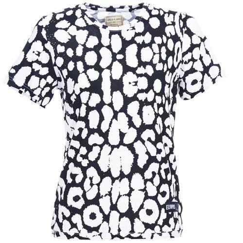 material Women short-sleeved t-shirts Eleven Paris BIRINA Black