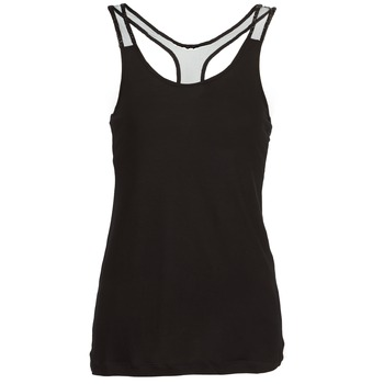 material Women Tops / Sleeveless T-shirts Religion DELICATE Black
