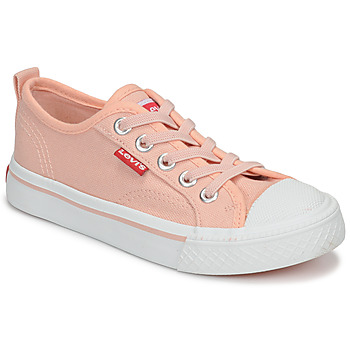 Shoes Girl Low top trainers Levi's MAUI Pink