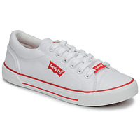 Shoes Children Low top trainers Levi's BERMUDA LACE White
