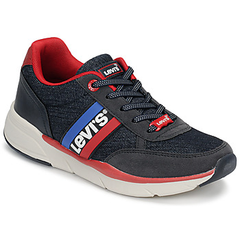 Shoes Children Low top trainers Levi's OREGON Marine / Red