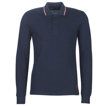 material Men long-sleeved polo shirts Casual Attitude LOUNALI Blue / Marine