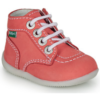 Shoes Girl Mid boots Kickers BONZIP-3 Red