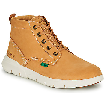 Shoes Men High top trainers Kickers KICK HI 3 Camel