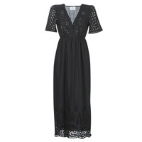material Women Long Dresses Betty London  Black