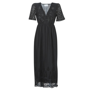 material Women Long Dresses Betty London MARTI Black