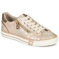 Shoes Women Low top trainers Mustang 1146311-221 Gold