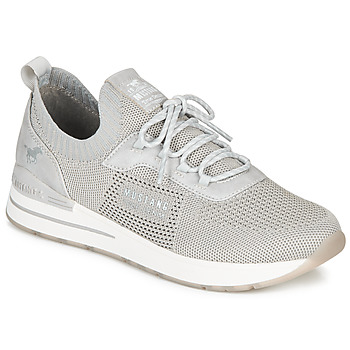 Shoes Women Low top trainers Mustang 1352303-2 Grey