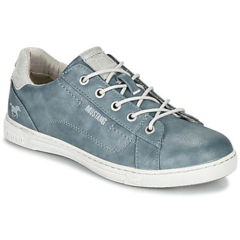 Shoes Women Low top trainers Mustang 1349301-875 Blue