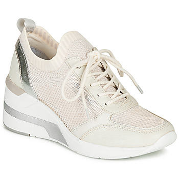 Shoes Women Low top trainers Mustang  White