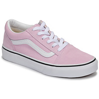 Shoes Girl Low top trainers Vans JN Old Skool Pink