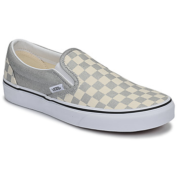 Shoes Women Slip ons Vans UA Classic Slip-On Silver
