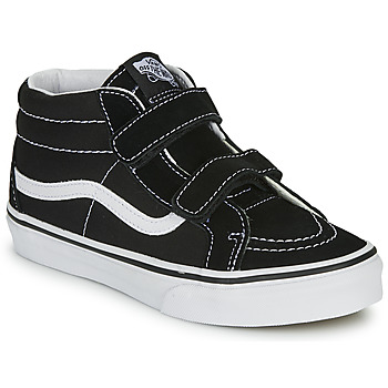 Shoes Children High top trainers Vans JN SK8-Mid Reissue V Black / White