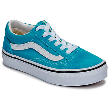 Shoes Children Low top trainers Vans UY Old Skool Blue