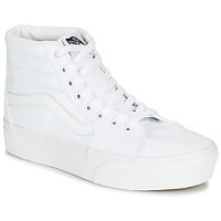 Shoes Women High top trainers Vans UA SK8-Hi Platform 2.0 White