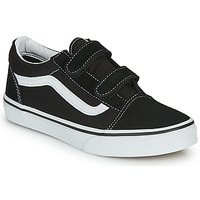 Shoes Children Low top trainers Vans JN Old Skool V Black / White