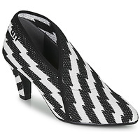 Shoes Women Court shoes United nude FOLD LITE MID Black / White