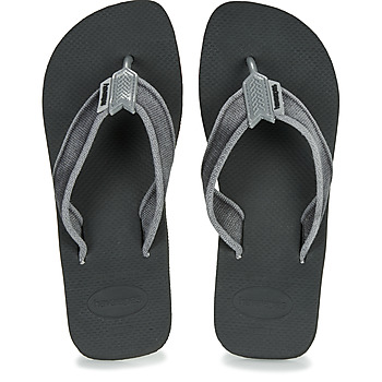 Shoes Men Flip flops Havaianas URBAN BASIC II  black
