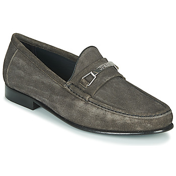 Shoes Men Loafers Guess PADOVA Black
