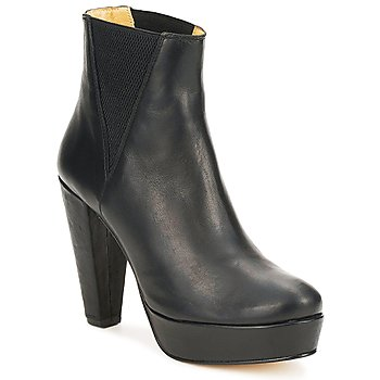 Shoes Women Ankle boots D.Co Copenhagen FAITH CHELSEA Black
