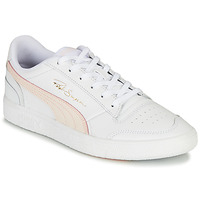 Shoes Women Low top trainers Puma RALPH SAMPSON White / Pink