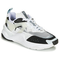Shoes Women Low top trainers Puma RISE White / Black