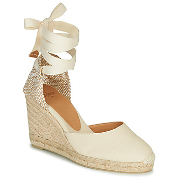 Shoes Women Sandals Castaner CARINA Cream