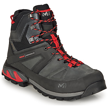 Shoes Men Hiking shoes Millet HIGH ROUTE Grey / Red