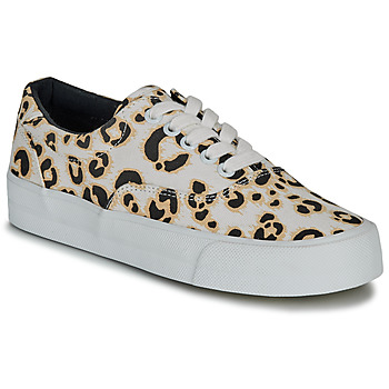 Shoes Women Low top trainers Superdry CLASSIC LACE UP TRAINER Leopard