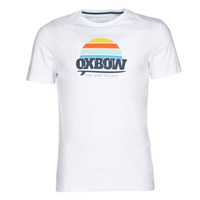 material Men short-sleeved t-shirts Oxbow M1TEKSO White