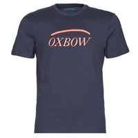 material Men short-sleeved t-shirts Oxbow M1TERCET Marine