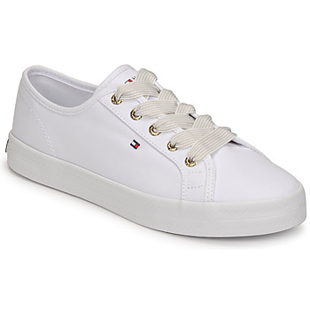 Shoes Women Low top trainers Tommy Hilfiger ESSENTIAL NAUTICAL SNEAKER White