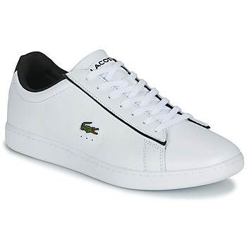 Shoes Men Low top trainers Lacoste CARNABY EVO 120 2 SMA White / Black
