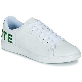 Shoes Men Low top trainers Lacoste CARNABY EVO 120 7 US SMA White / Green