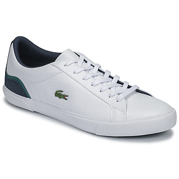 Shoes Men Low top trainers Lacoste LEROND 120 3 CMA White / Marine / Green