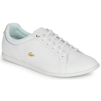 Shoes Women Low top trainers Lacoste REY LACE 120 1 CFA White / Gold