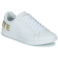 Shoes Women Low top trainers Lacoste CARNABY EVO 120 6 US SFA White / Gold