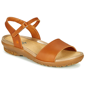 Shoes Women Sandals Art ANTIBES Brown