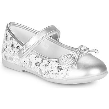 Shoes Girl Ballerinas Chicco CLELIANA Silver