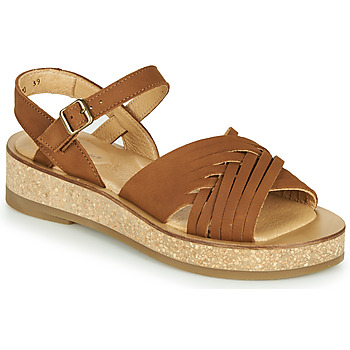 Shoes Women Sandals El Naturalista TÜLBEND Brown