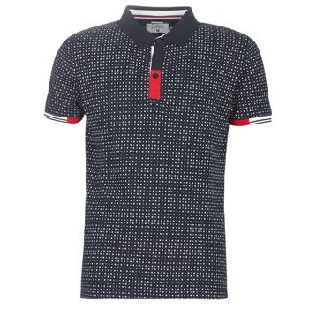 material Men short-sleeved polo shirts Yurban NELLY Marine