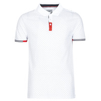 material Men short-sleeved polo shirts Yurban NELLY White