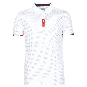material Men short-sleeved polo shirts Casual Attitude NELLY White