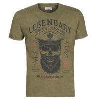 material Men short-sleeved t-shirts Yurban MCOOL Kaki